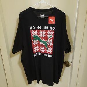 Men's Puma Christmas T-shirt